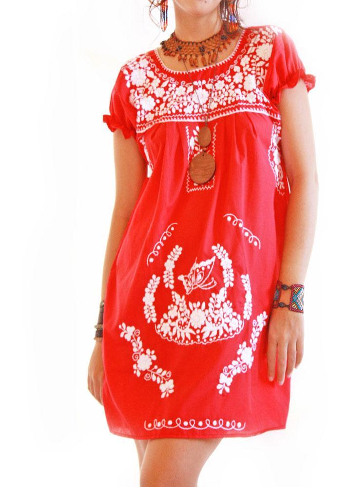 Vintage dress blouse lace cotton crochet