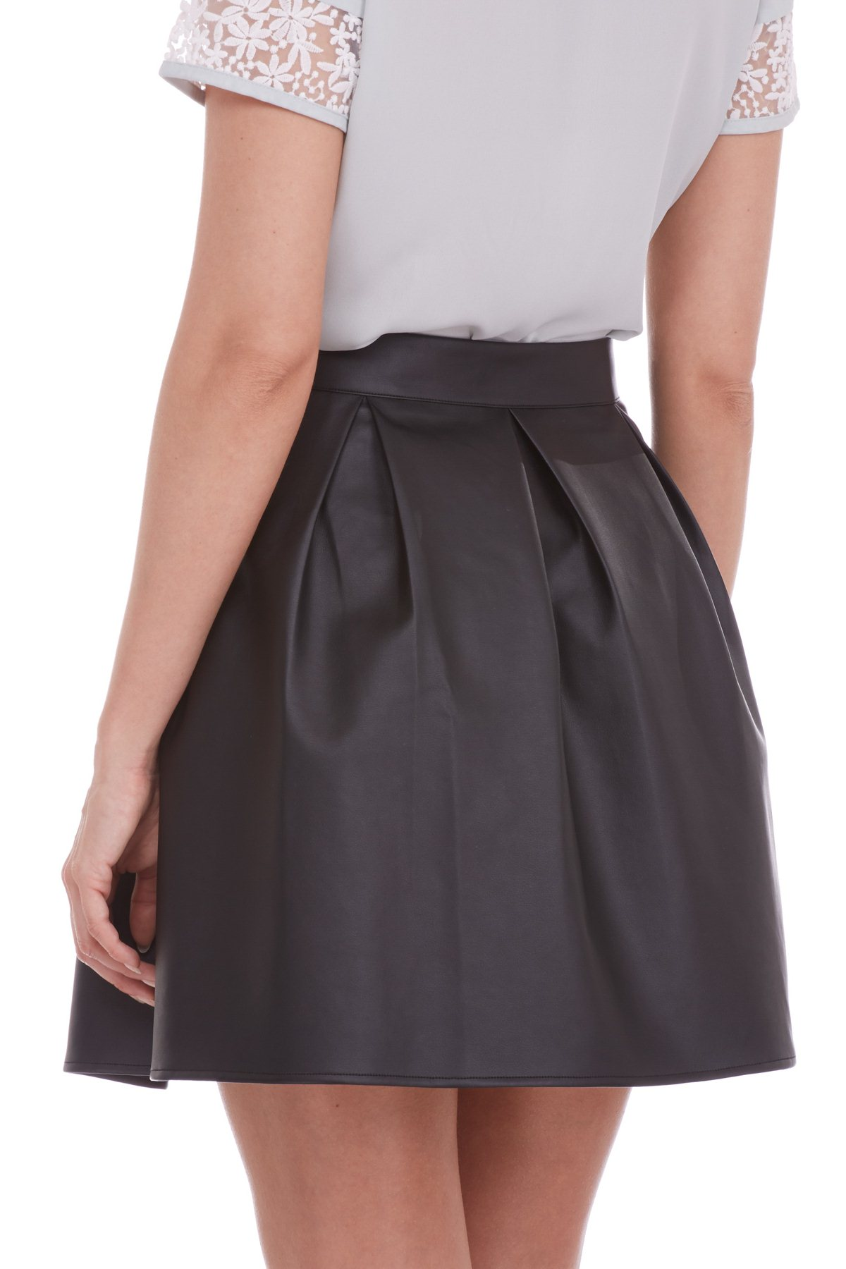 AT14 Poppy Skirt - Black - Sugarhill Boutique