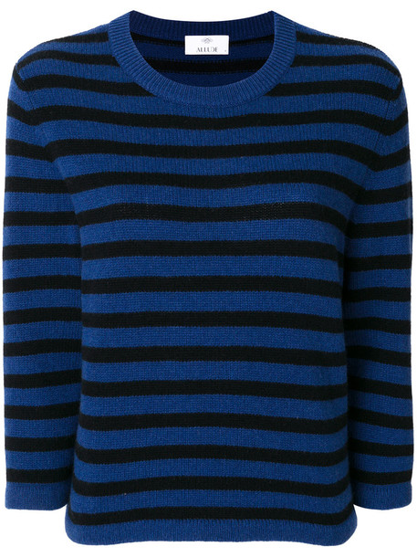Allude jumper women blue sweater