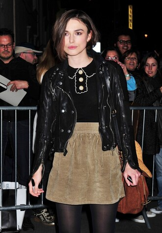 keira knightley black sweater jacket sweater