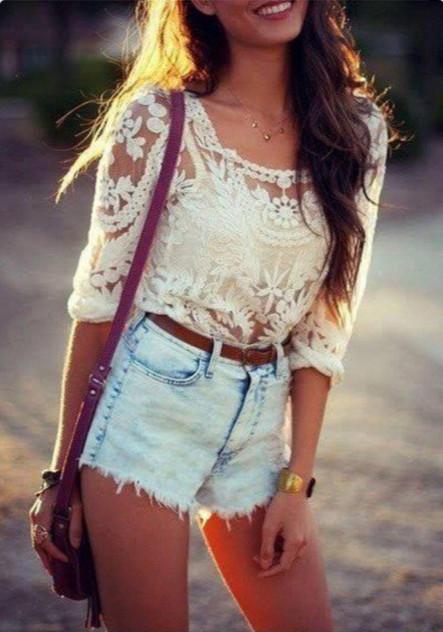 Cute lace blouse