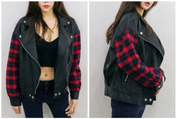 jacket plaid