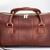 Merci-Fortune - Charlotte duffel - Pecan leather