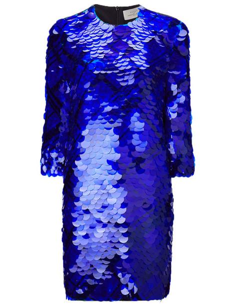 PREEN BY THORNTON BREGAZZI dress blue