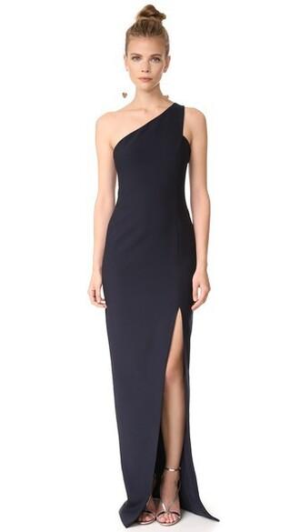 gown navy dress