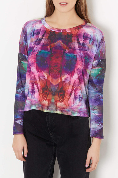 topshop shirt secret garden top workshop