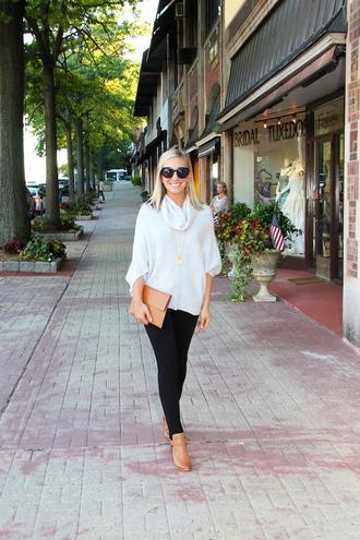 lemon stripes blogger sweater leggings bag jewels shoes