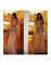 Glitter dress tulle mermaid crystal long evening gold prom dresses