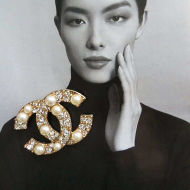 chanel inspired brooch. jewels chanel brooch fashion jewelry designer inspired replica r