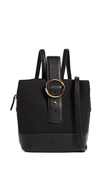 Parisa Wang backpack gold black bag