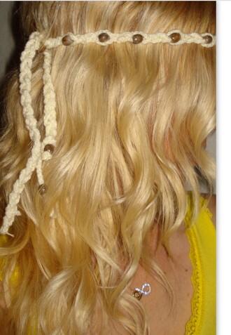 hipster hippie hair accessories headband hippie headband women beige ivory beige headband girl gift ideas new yera gifts hipster punk hippie jewelry