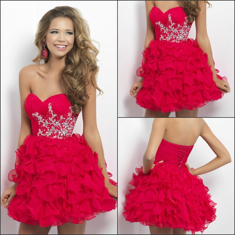 Free Shipping Ball Gown Beads Short Puffy New Fashion 8th Grade Graduation Dresses 2013-in Homecoming Dresses from Apparel & Accessories on Aliexpress.com