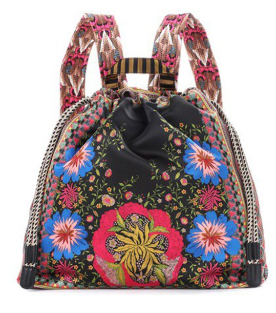 ETRO backpack printed backpack bag