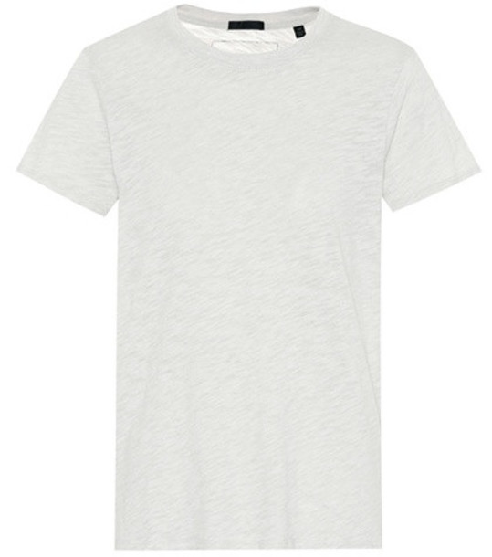 ATM Anthony Thomas Melillo Cotton-blend T-shirt in grey