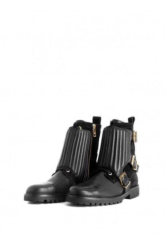Low boots zag biker deluxe