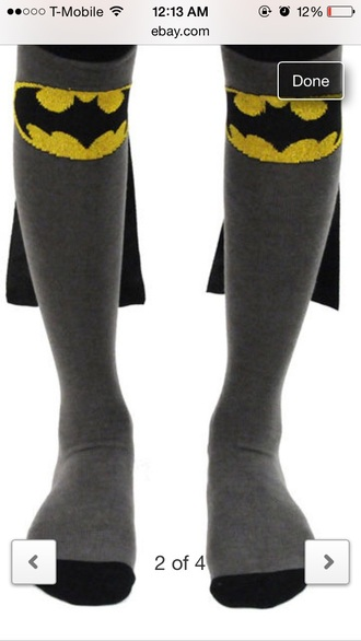 socks batman cape