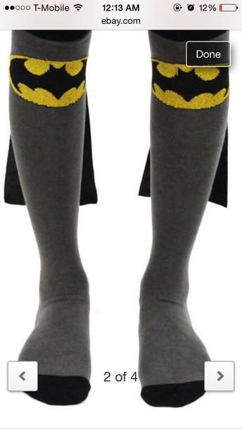 socks batman cape