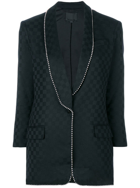 Alexander Wang jacket women ball black wool