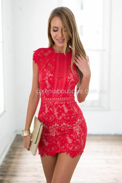 412249fbf55 Jessica 2.0 Dress (Red)