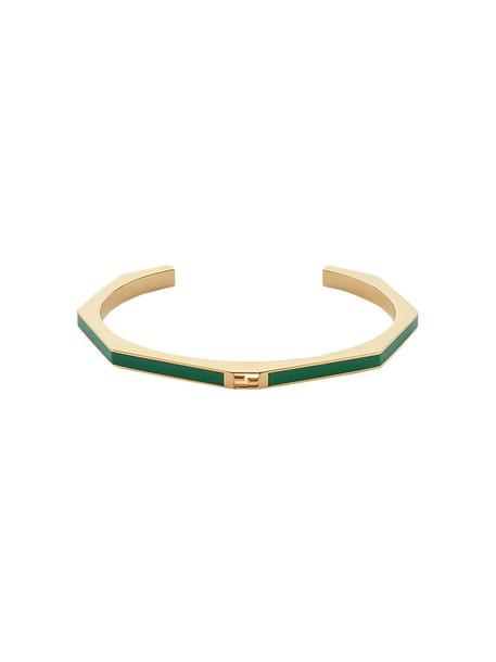 Fendi women green jewels