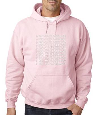 Amazon.com: New Way 229 - Hoodie Drake 1-800 Hotline Bling Unisex Pullover Sweatshirt: Clothing