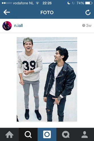 sweater niall horan one direction