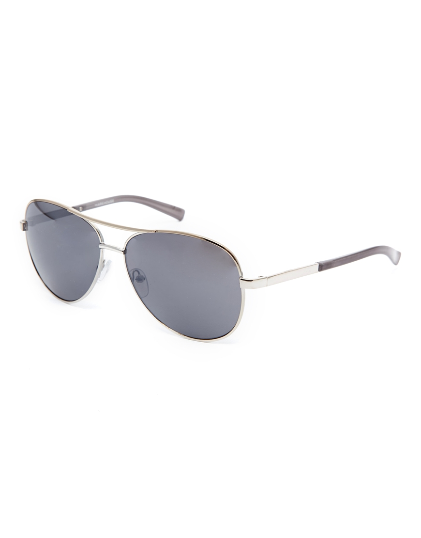 Warehouse Classic Metal Sunglasses at asos.com