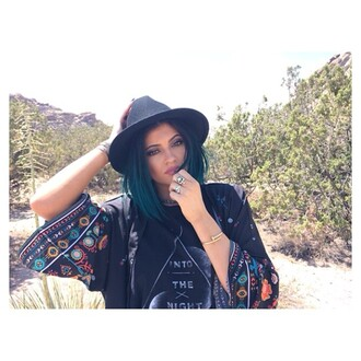 blouse kylie jenner hat cardigan shirt