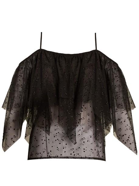 Racil top mesh top mesh black
