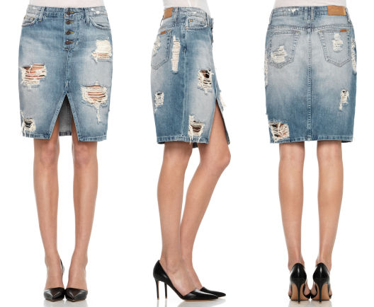 Up Pencil Skirt Shop Designer Clothes, Premium Denim Jeans | JOE'S ...
