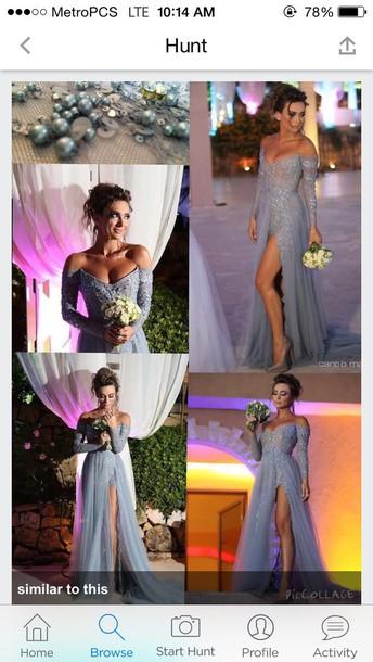 dress prom dress prom long formal dress light blue wanting formal dresses evening formal dress