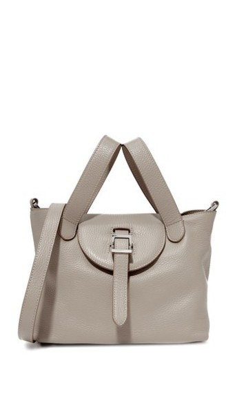 meli melo Thela Mini Satchel in taupe