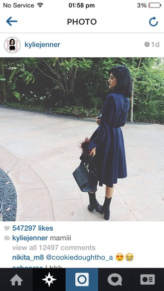 waist navy kylie jenner shirt dress trench coat goth long t-shirt dress keeping up with the kardashians black