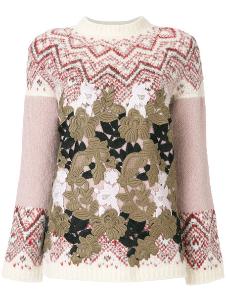 Moncler Gamme Rouge jumper women wool sweater