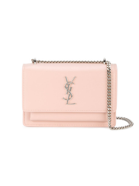 Saint Laurent women bag leather nude
