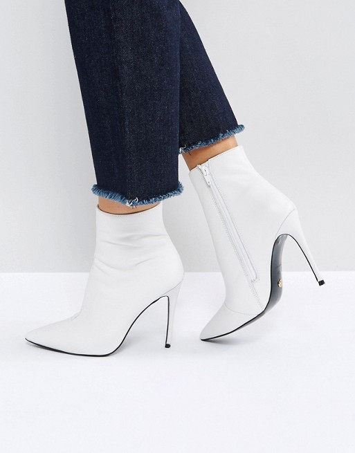 KG By Kurt Geiger Ride Leather Ankle Boots at asos.com