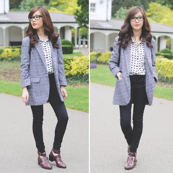 temporary secretary blogger jeans