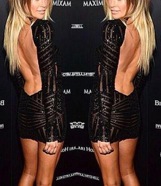 Open Back Olivia Dress – Dream Closet Couture