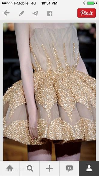 dress gold prom dress prom circle skirt tulle skirt strapless ball gown dress evening dress starry night