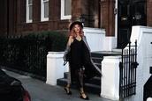 meri wild,blogger,coat,shoes,dress,bag,midi dress,black dress,fall outfits,grey coat