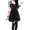 """mesh pentagram dress"