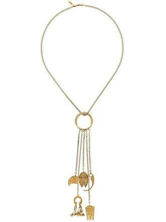 metallic women necklace jewels