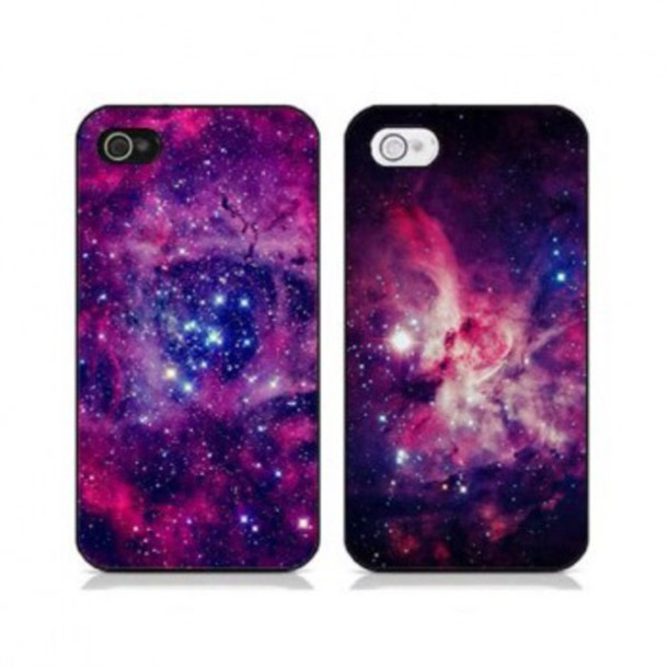 phone cover purple and pink