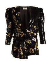 floral,black,romper