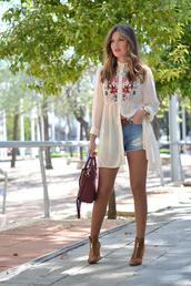 mi aventura con la moda,blogger,peep toe boots,embroidered,denim shorts