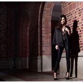 jacket,cape,blazer,black,Black cape,angl clothing,shop angl,holiday style,formal,angl,36683