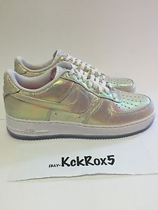 online retailer 45cfb 08c0e nike wmns air force 1 07 low premium iridescent qs 11 pearl 704516 ...