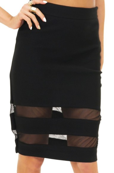 black mesh girly skirt pretty skirt