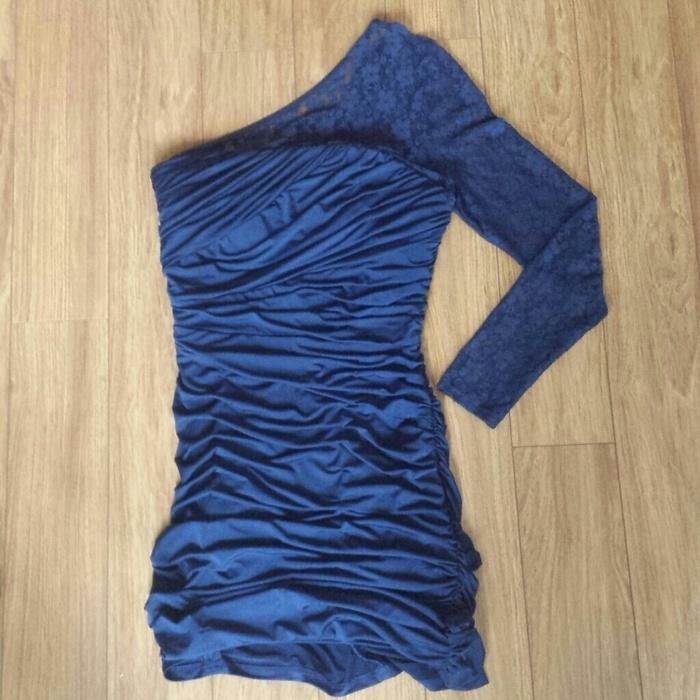 Jessica McClintock Navy Dress - Dresses  - vinted.com