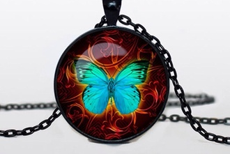 jewels butterfly necklace